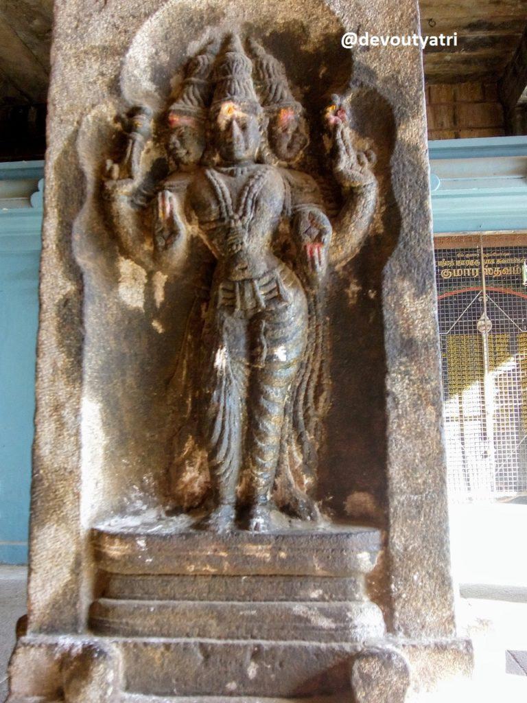 Thiruvanaikoil Jambukeswarar Temple - Brahma