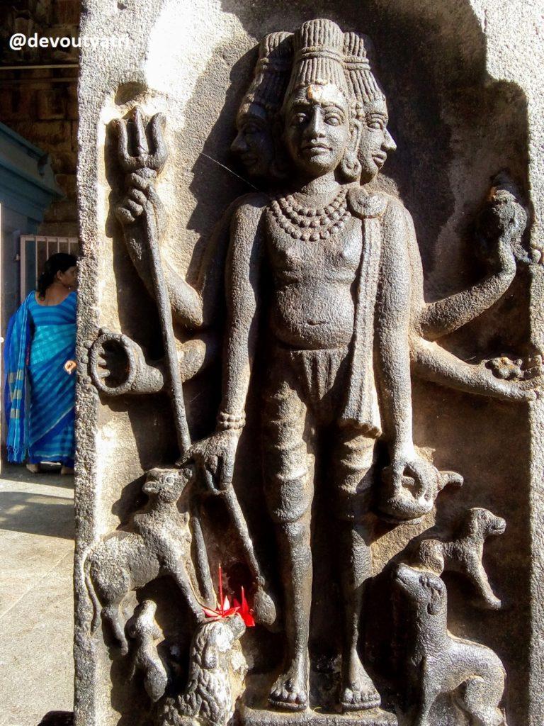 Thiruvanaikoil Jambukeswarar Temple - Dattatreya