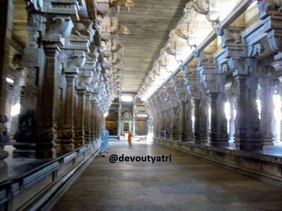 Thiruvanaikaval Jambukeswarar temple Third Praharam