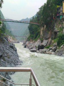 Ganga from Sangam Ghat